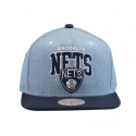 Boné Mitchell & Ness Brooklyn Nets Azul