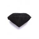 Almofada Diamond - preta
