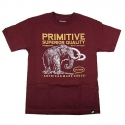 Camiseta Primitive Superior - Vinho