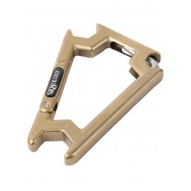 Chave para Skate Sk8ology Compacta Carabiner - Dourada