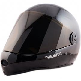 Capacete Predator DH6 Preto Brilhante