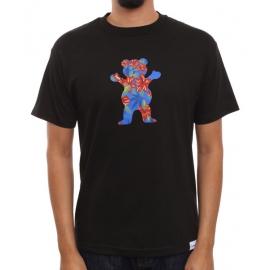 Camiseta Grizzly Tropical High Bear - Preto