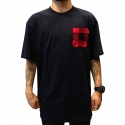 Camiseta Primitive Pocket - Azul