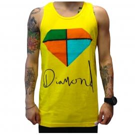 Regata Diamond Painted - Amarelo