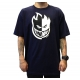 Camiseta Spitfire Big Head Black/White - Azul