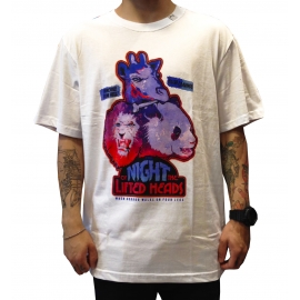 Camiseta LRG Nigh Of Lifted Heads - Branca