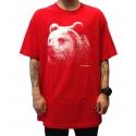 Camiseta Grizzly Montana - Vermelha
