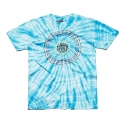 Camiseta Lakai Tie Dye Spiral Premium - Azul