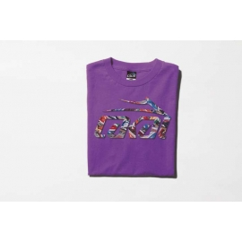 Camiseta Lakai Shoe Fill - Roxo