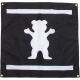 Bandeira Grizzly Og Bear - Preta