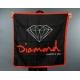 Bandeira Diamond Logo - Preto/Vermelho