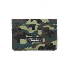 Carteira Primitive Camo Card Holder Clip