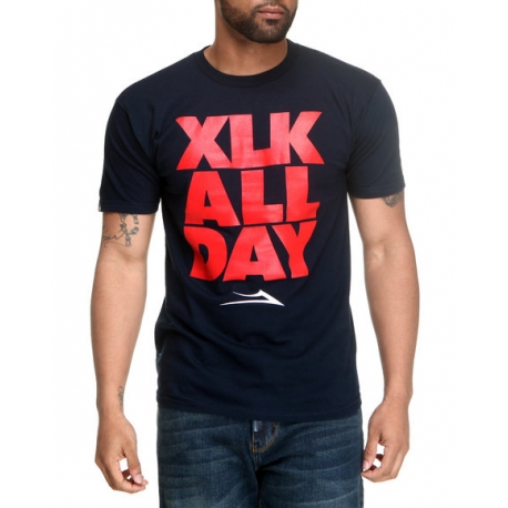 Camiseta Lakai XLK All Day - Azul