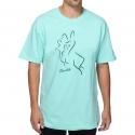 Camiseta Primitive Bunny Verde Água