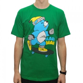 Camiseta Lakai Frared Bear - Verde