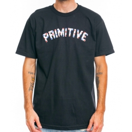 Camiseta Primitive Block Type Stars - Azul