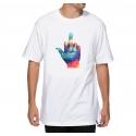 Camiseta Primitive Tie Dye Finger White