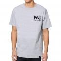 Camiseta Primitive No Clowns - Cinza Mescla