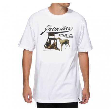 Camiseta Primitive Sports Men - Branca