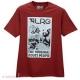 Camiseta LRG Core Monument - Vinho