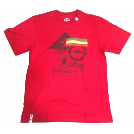 Camiseta LRG Cultiva - Vermelha