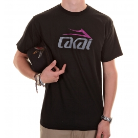 Camiseta Lakai Fully Flared - Preta