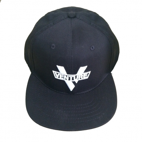 Boné Venture Logo V - Preto