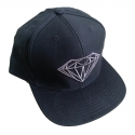 Boné Diamond Brilliant Snapback - Preto