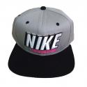 Boné Nike SB Snapback - Cinza/Preto
