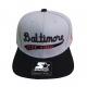 Boné Starter Baseball Museum Baltimore Snapback Cinza