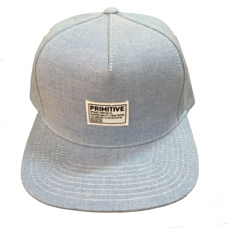 Boné Primitive Chambray - Azul