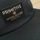 Boné Primitive Worldwide 5 Panel - Preto