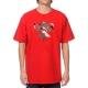 Camiseta LRG Floral - Vermelha