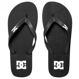 Chinelo DC Shoes Spray - Preto