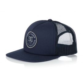 Boné DC Shoes Forked Trucker - Azul