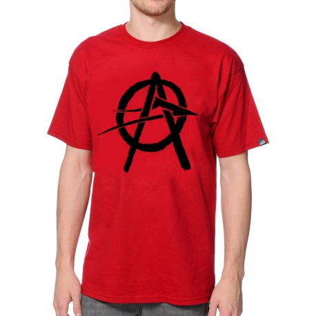 Camiseta Lakai Anarchy - Vermelha