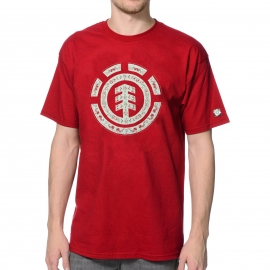 Camiseta  Element bandana icon - Vermelha