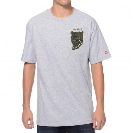 Camiseta Element Attack - Cinza