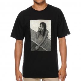 Camiseta Lakai Smoking Premium - Preta