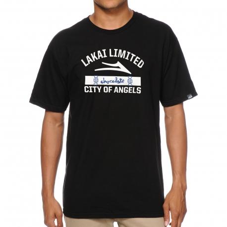 Camiseta Lakai X Chocolate City Of Angels - Preta