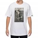 Camiseta Lakai Cat Premium - Branca