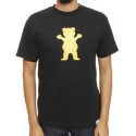 Camiseta Grizzly Golden Bear Black