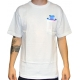 Camiseta Grizzly Digi Tie Dye Pocket - Branca