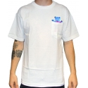 Camiseta Grizzly Digi Tie Dye Pocket White
