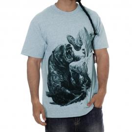 Camiseta Grizzly Bear Encounter - Azul