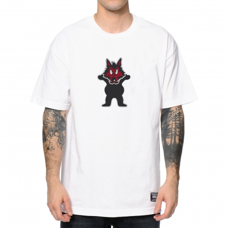 Camiseta Grizzly Wolfpack - Branca