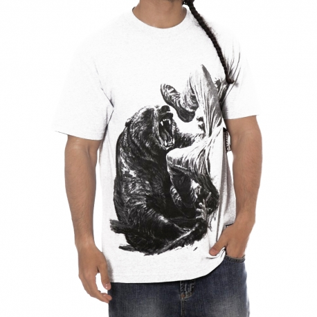 Camiseta Grizzly Bear Encounter - Branco