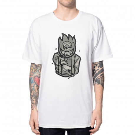Camiseta Spitfire Target - Branca