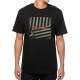 Camiseta Chocolate Stripe Box - Preta