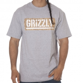 Camiseta Grizzly Springfield Box Cinza
